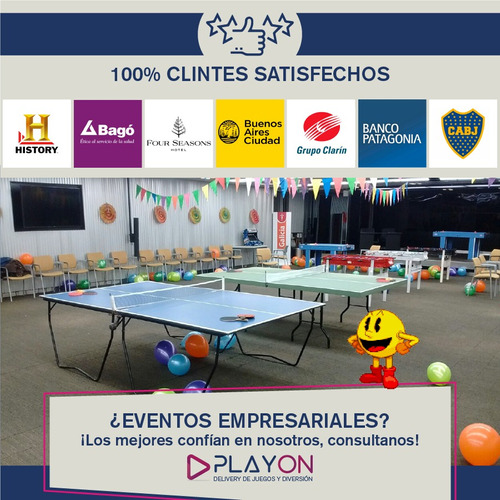 alquiler metegol juegos pool tejo ping pong plaza blanda