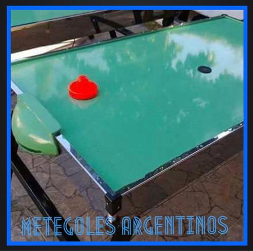 alquiler metegol, pool, tejos, inflables, sapo,ping pong.