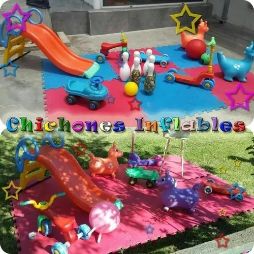 alquiler metegol,tejo, castillos inflables, plaza blanda etc