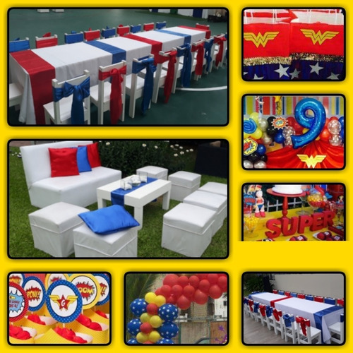 alquiler mini livings, sillon princesa, mini puffs, sillas