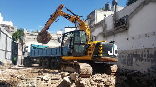 alquiler minicargador bobcat demoliciones y excavaciones