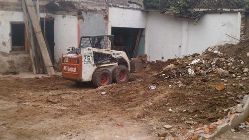 alquiler minicargadora-martillo-excavaciones-demoliciones