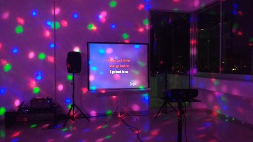 alquiler minidisco karaoke luces sonido playstation 4 ps4 tv
