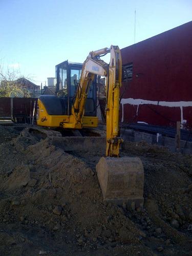 alquiler miniexcavadora-excavadora 5 a 8 tn argecam