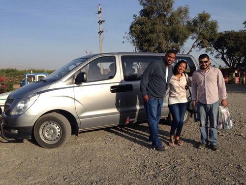 alquiler minivan h1 turismo formal con conductor profesional