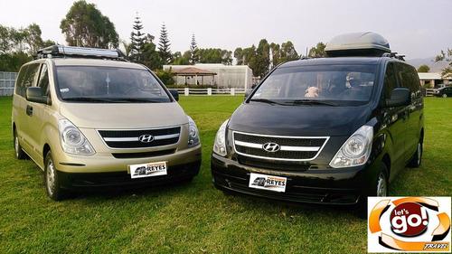alquiler minivan, mini van. serv.turistico a nivel nacional