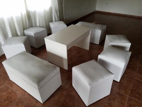 alquiler mobiliario livings