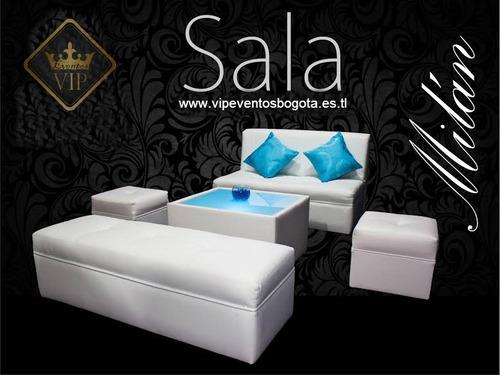 alquiler mobiliario, menaje, decoración, sonido,ambientación