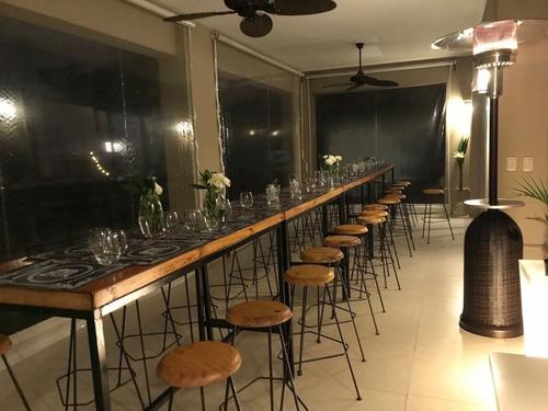 alquiler mobiliario para eventos mesas, banquetas, barras