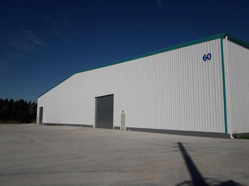 alquiler modulo de 412m2, nave en parque industrial canning, a estrenar, ph - canning