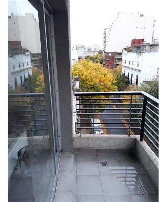 alquiler monoambiente c/ balcón san cristobal