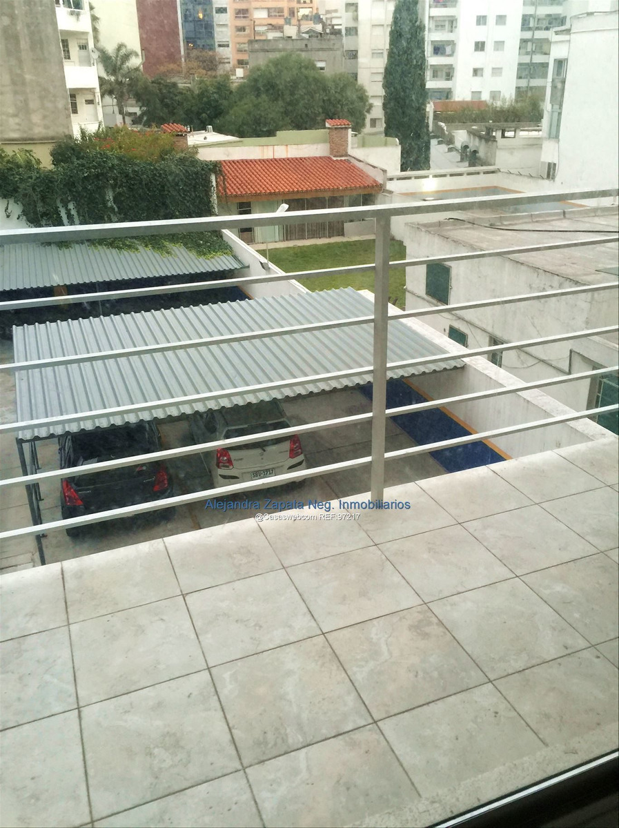 alquiler monoambiente con balcon contrafrente pocitos