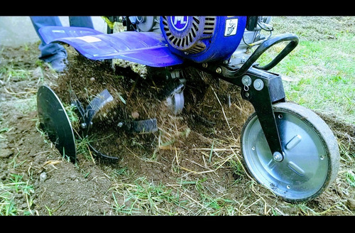 alquiler motocultivador/rotovator