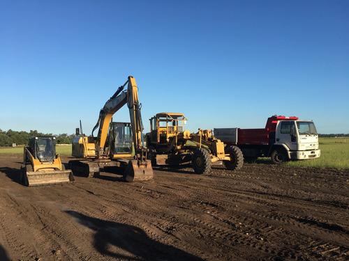 alquiler motoniveladora / transporte carreton / excavaciones