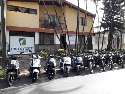 alquiler motos y scooter medellin