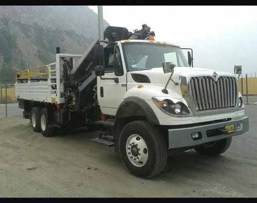 alquiler o venta camión grúa 12 toneladas
