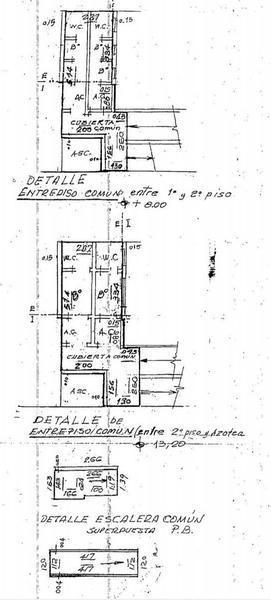 alquiler o venta - edificio comercial en block de 5 plantas - microcentro