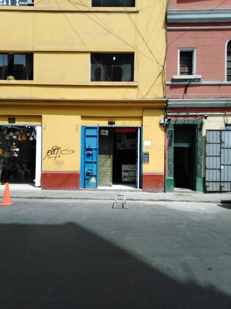 alquiler o venta  local comercial-cercado lima-puerta calle.