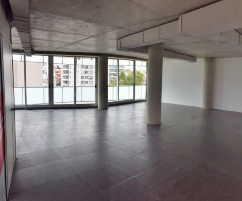 alquiler oficina 130m2 + cochera / palermo hollywood