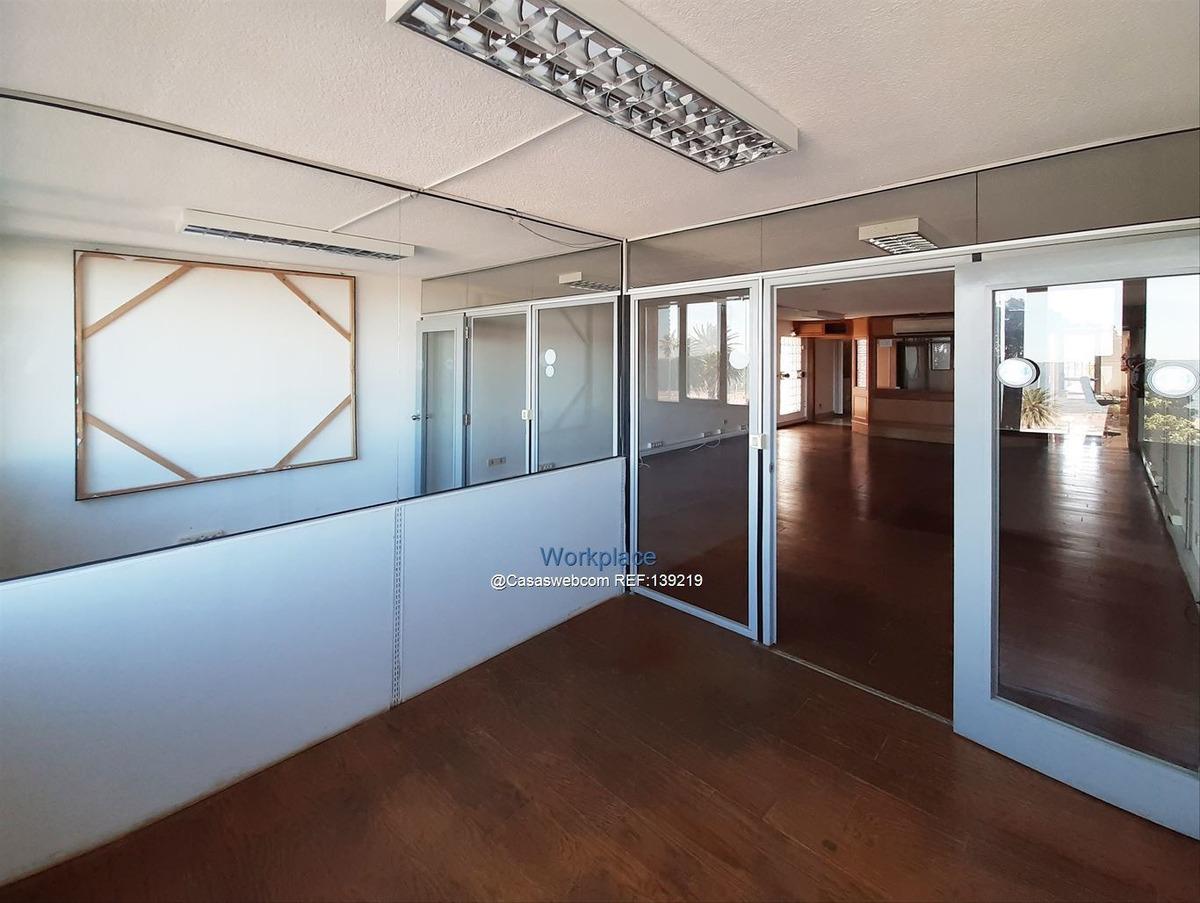 alquiler oficina en palermo - rambla - edificio corporativo