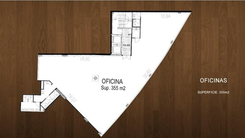 alquiler oficina planta completa al frente - balvanera