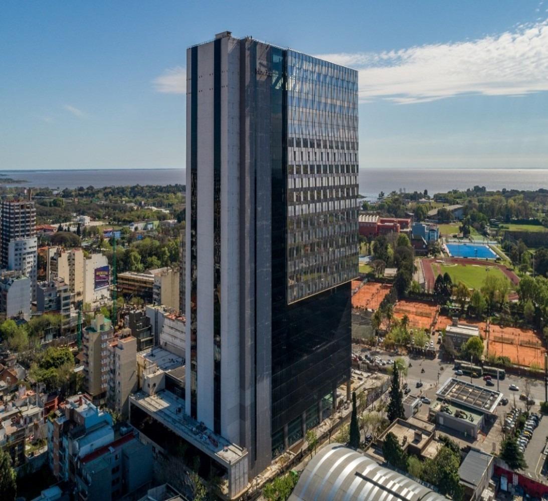 alquiler oficinas - centro empresarial lib. piso 21° - núñez