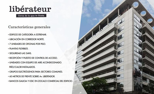 alquiler oficinas de categoria en liberateur!!!
