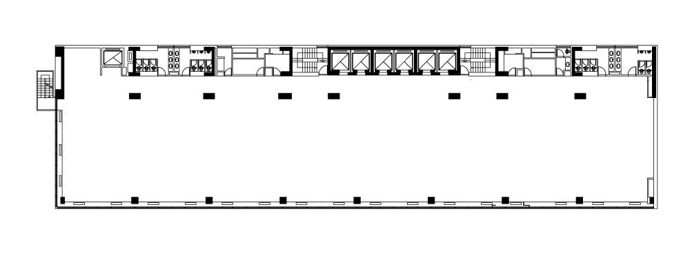 alquiler oficinas | edif. nuevo centro, alem 928 | 989 m²