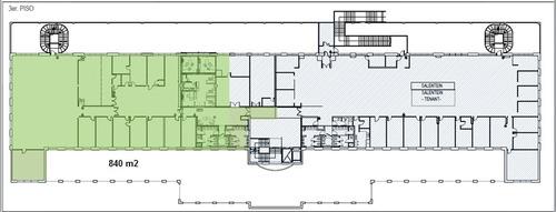 alquiler oficinas edificio philips, vedia 3892 - piso 3°
