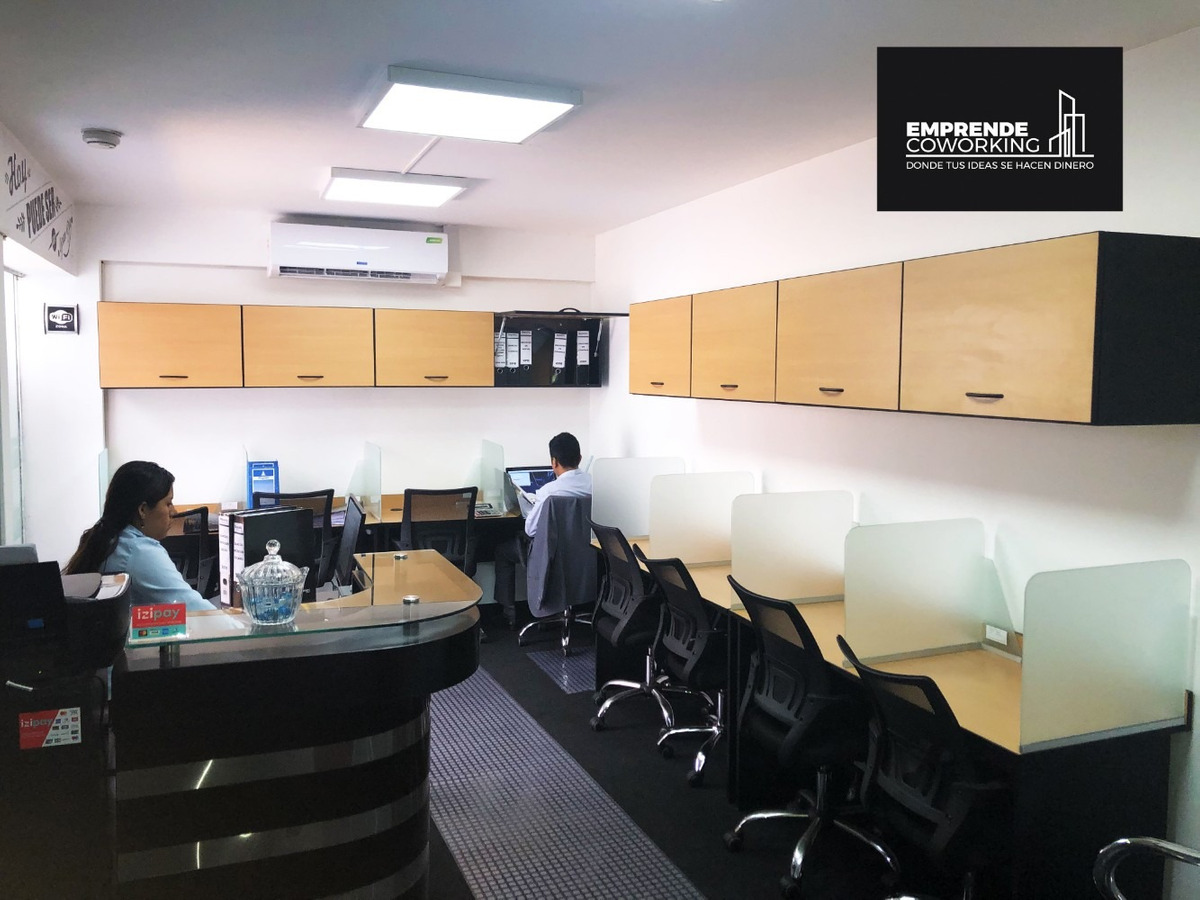 alquiler oficinas y sala de reuniones por horas en la molina