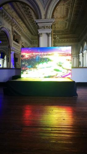 alquiler pantalla led gigante