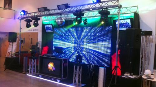 alquiler pantallas led gigante p3,p4,p5,proyectores,tv led