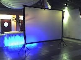 alquiler pantallas-proyectores y tótem para fiestas/eventos