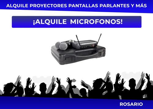 alquiler parlantes sonido rosario audio microfonos