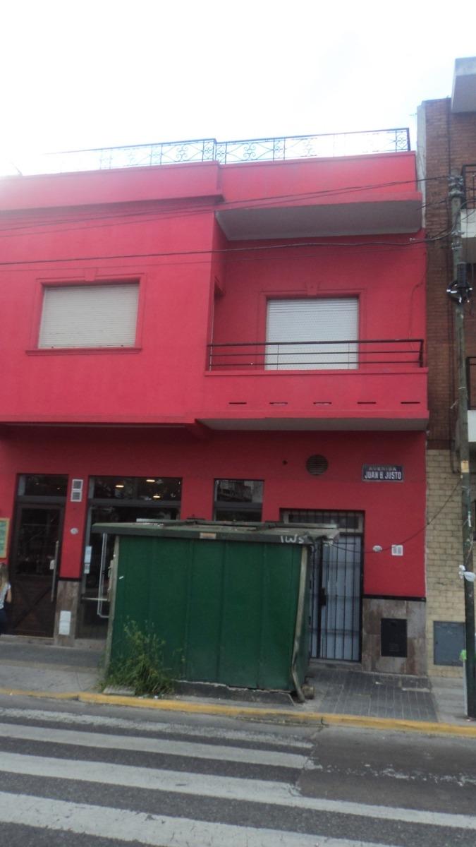alquiler ph 3 ambientes al frente con terraza en villa luro