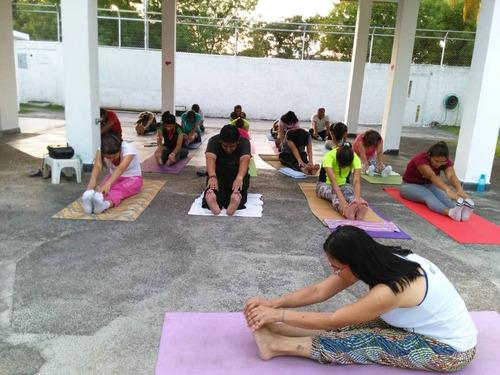 alquiler  piscina  fiestas infantiles ,  clases de yoga