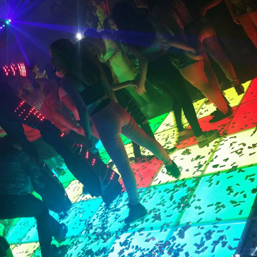 alquiler pista de baile led sillas muebles led barra tragos