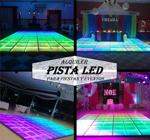 alquiler pista led - piso led para fiestas y eventos