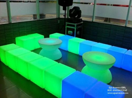 alquiler pistas leds salas leds para eventos fiestas