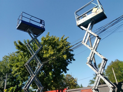 alquiler plataforma elevadora tijera