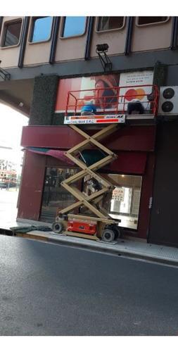 alquiler plataforma elevadora tijera electrica.