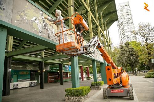 alquiler plataformas elevadoras tijera eléctricas