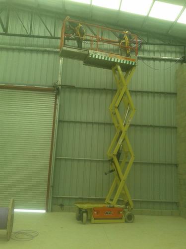 alquiler  plataformas elevadoras  tijeras brazo 153-661-1624