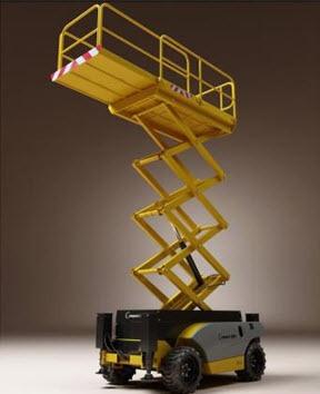 alquiler plataformas hidráulicos y brazo articulado