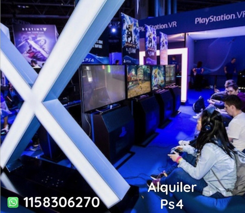alquiler play 4 pantallas 4k proyectores hd led tv consolas
