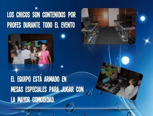 alquiler play station 4, play 3, tv 40 pulgadas, arkade.!!!
