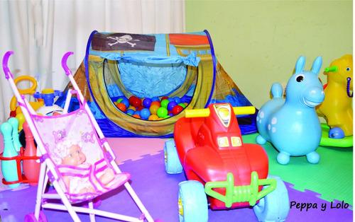 alquiler plaza blanda- 15 juegos x $750