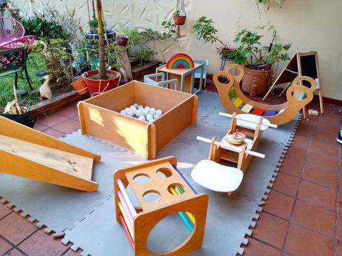 alquiler plaza blanda montessori