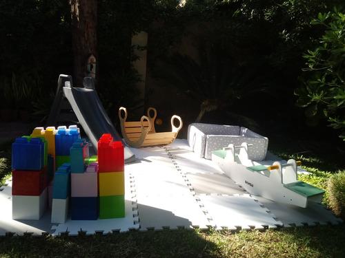 alquiler plaza blanda / nórdica / montessori / juegos/ mesas
