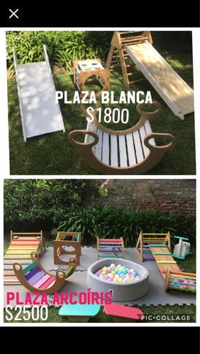 alquiler plaza blanda - pikler montessori